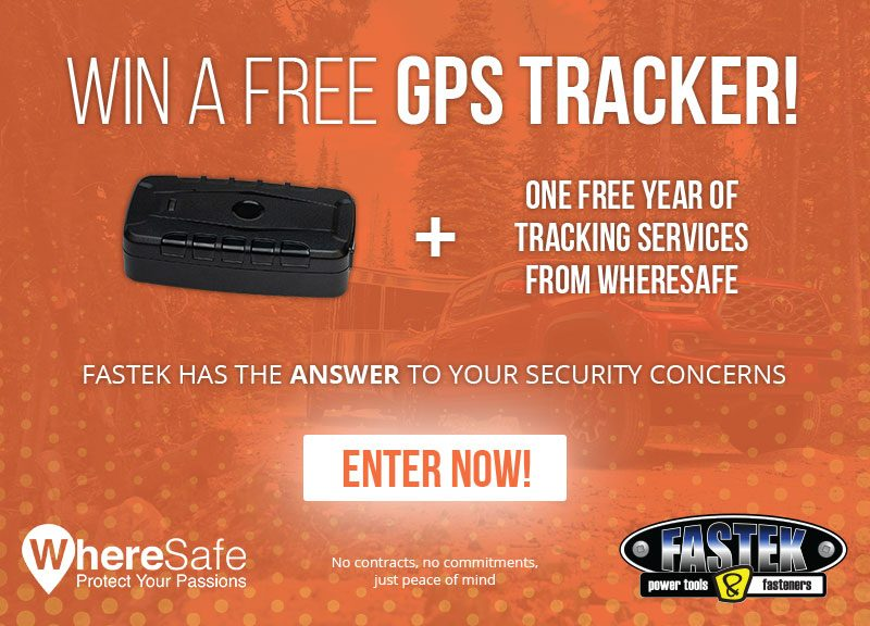 Win a free GPS tracker!